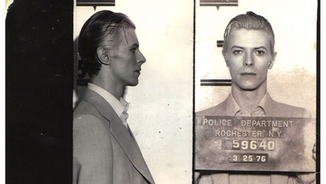 """Remember When David Bowie Got Busted for Pot With Iggy Pop in Hell, AKA Rochester, New York?""  Yeah nobody stopped loving him for that."