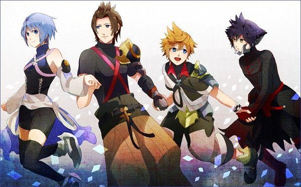 Tags: Anime, Kingdom Hearts, Aqua (Kingdom Hearts), Kingdom Hearts: Birth by Sleep, Terra, Ventus, Vanitas
