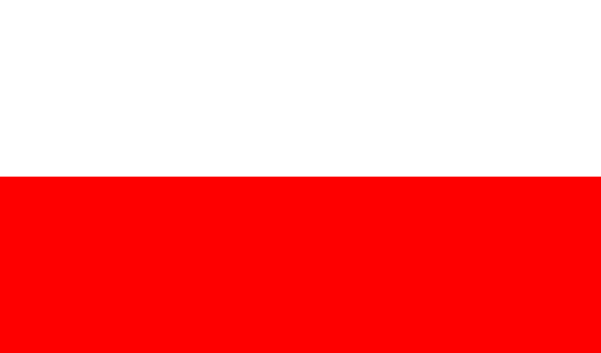 Poland Bendera Polandia Fotografi