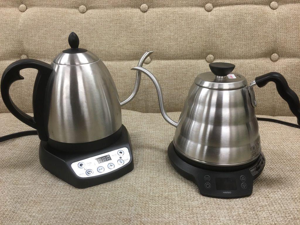 Harioパワーケトル 温度調整機能付 とbonavita電気ケトルを徹底比較 コーヒーにはどちらがおすすめ 電気ケトル コーヒー 電気