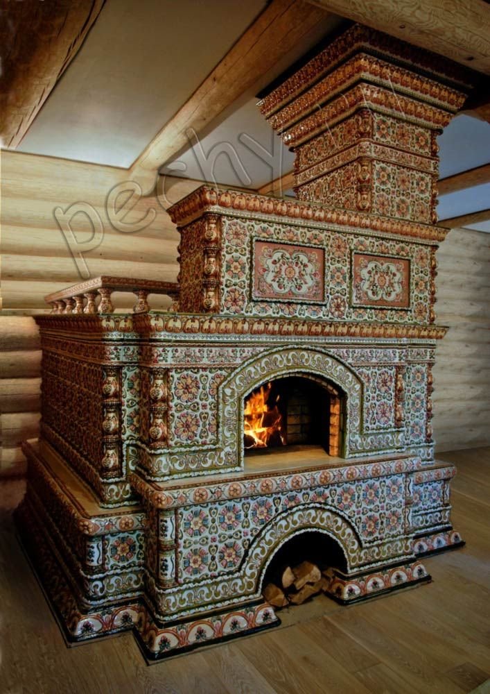 Russian tiled stove chimeneas in 2019 Wood stove