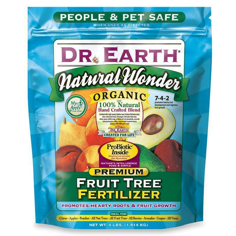 Dr Earth Dr Earth 4 Lb Bag Organic Fruit Tree Fertilizer 1380 3317 Organic Fruit Organic Fruit Trees Fruit Trees