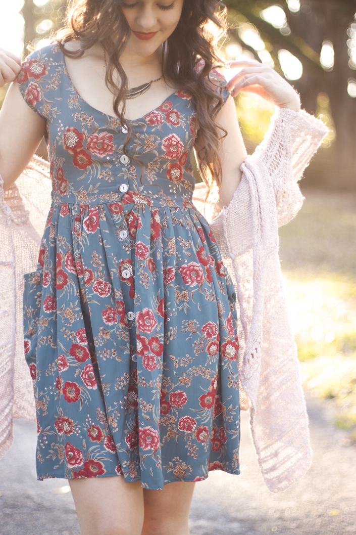 A Walk In The Park Boho Florals  Ss Outfits  Vintage -5699