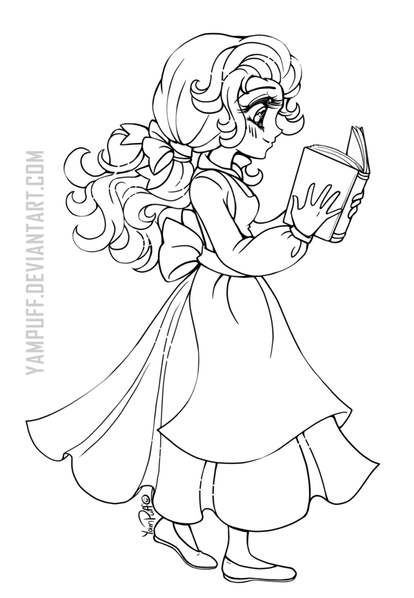 disney chibis coloring pages - photo#11