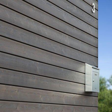 Bardage Protect Meleze couleur Gris Equinox-Silverwood Home decor - Pose De Lambris Pvc Exterieur
