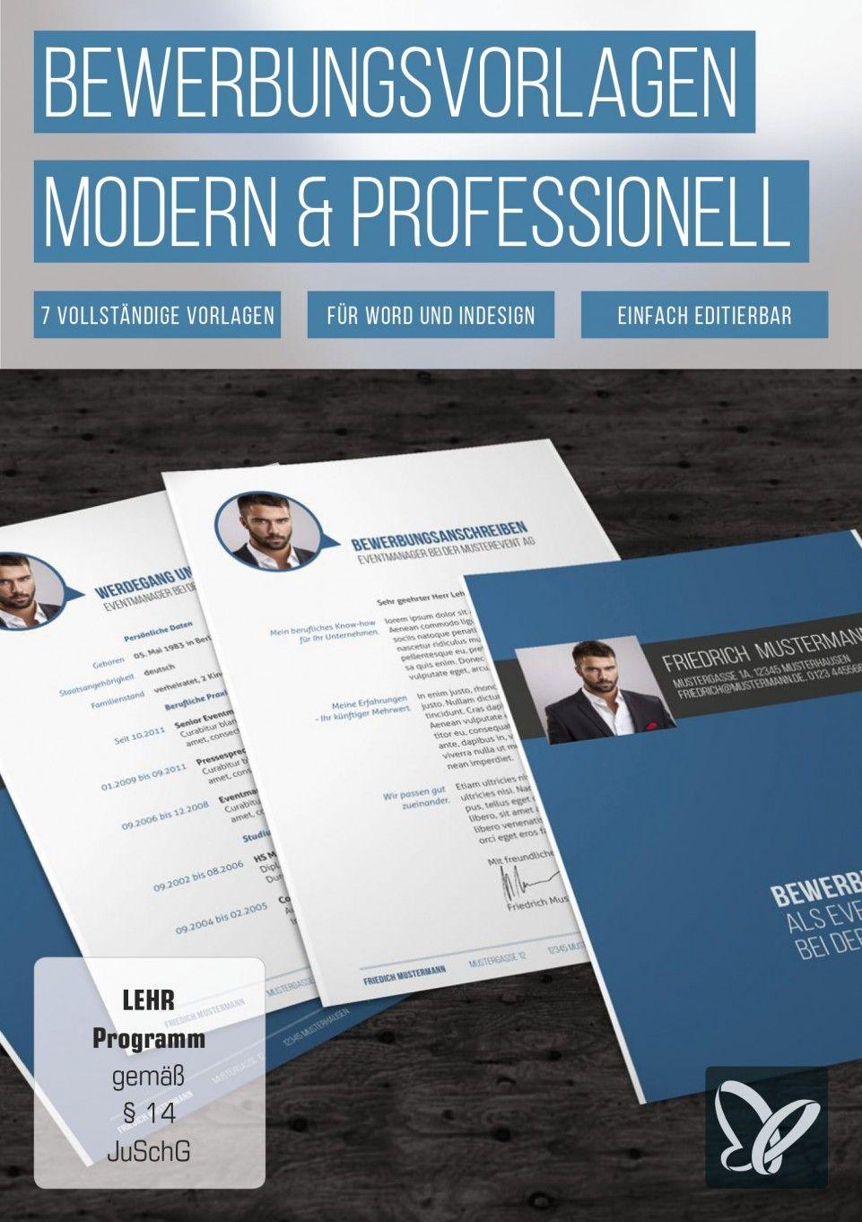 Bewerbungsvorlagen - modern, kreativ und professionell   Neuer job ...