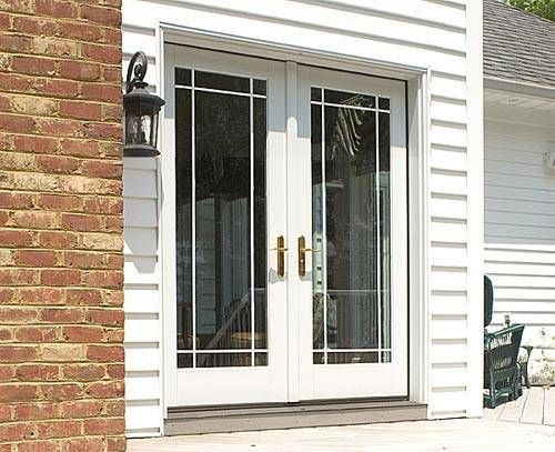 Lowes Double French Doors Exterior Photo 1