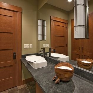 Pacific Northwest Style Bathroom Design Ideas Pictures Remodel Inspiration Bathroom Cabinets Design Decorating Design