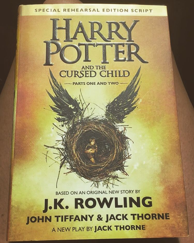 Harry Potter And The Cursed Child Cursed Child Harry Potter Cursed Child Book
