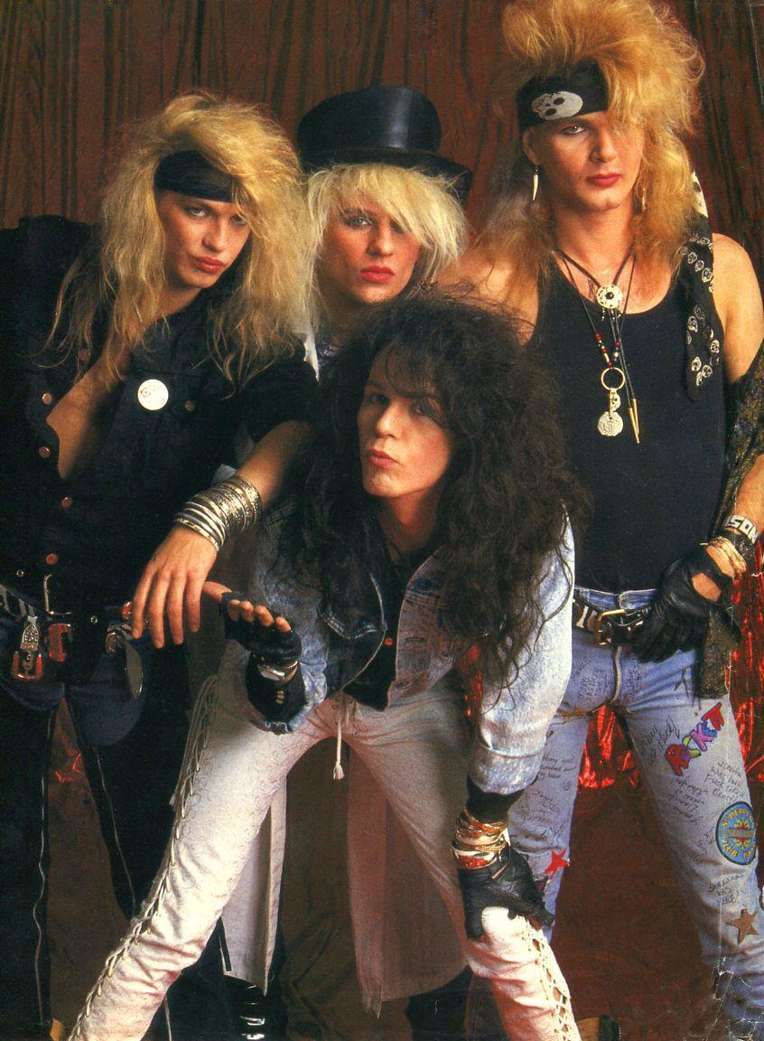 Poison Totally Rocked The Big Hair Look Com Imagens Anos