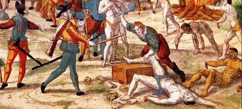 """""""Ejecuciones, mutilaciones, violaciones"""", así fue la Conquista de América"""