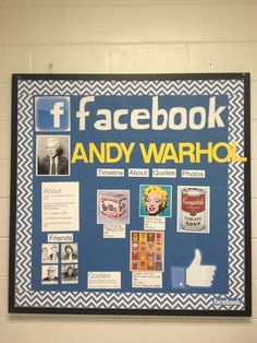 *could get students to do status updates of what they have learned about the person, place or thing - add pictures, etc.