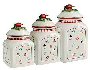 Villeroy And Boch Petite Fleur Charm Spice Canister 4 3 4 In By