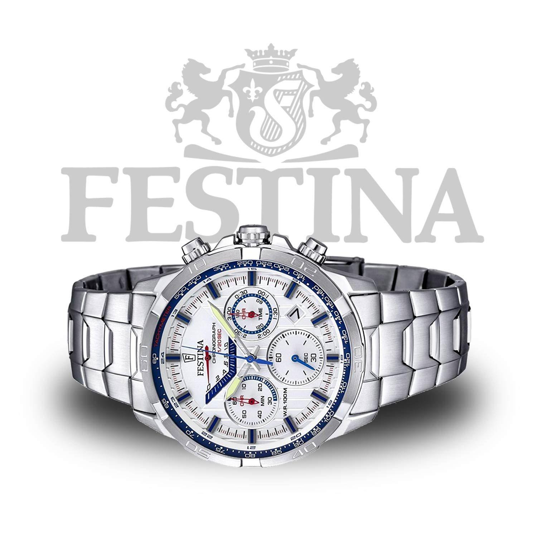 Festina Sport-Chronograph F6836 2 aus Edelstahl mit Miyota Markenuhrwerk ed67666a62