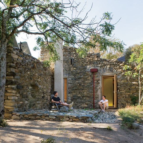 Tiny Home Designs: Blee Cabin....living In Renovated Small-cabin Old Ruins In