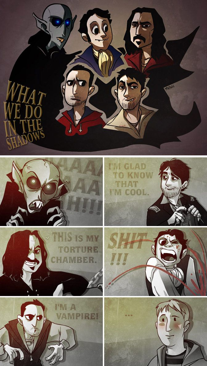 What We Do in the Shadows characters. Shadow, Vampire