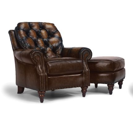Leather Chair And Ottoman 949 Leather Chair Brown Leather Chairs Chair And Ottoman Brown leather chair with ottoman