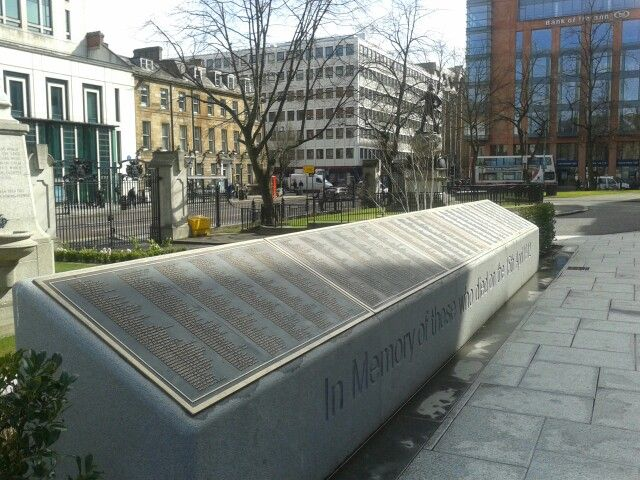 Titanic Memorial Garden, Belfast City Hall