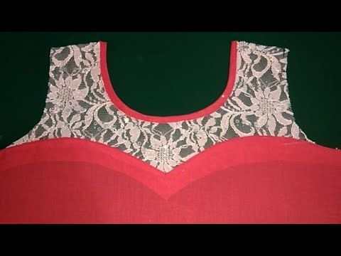 cb045f15893780 Latest Halter neck design for suit kameez and blouse cutting and stitching  with Helpful tips - YouTube