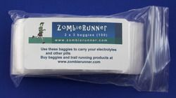 Small zip lock baggies for s-caps or other little items.