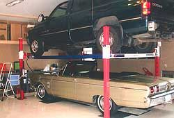 Backyard Buddy Developed The First Freestanding 4 Post Car Lift Designed  For The Home Hobbyist About 15 Years Ago. There Are Many Lift Companies Whu2026