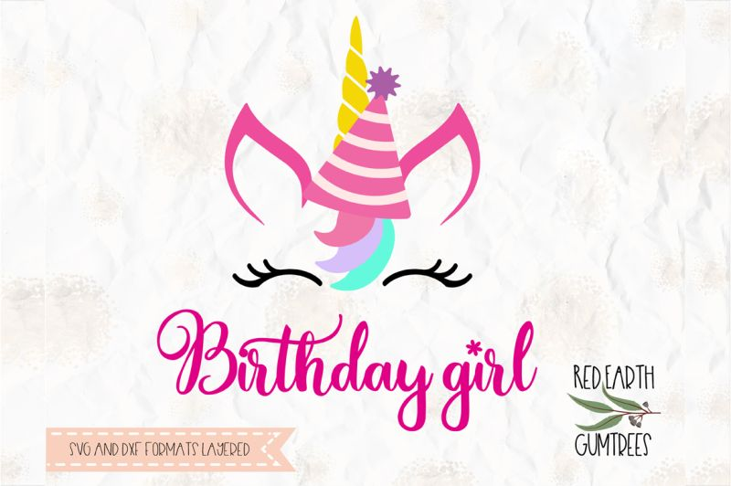Download Free Birthday Unicorn Svg Png Eps Dxf Pdf For Cricut Cameo ...