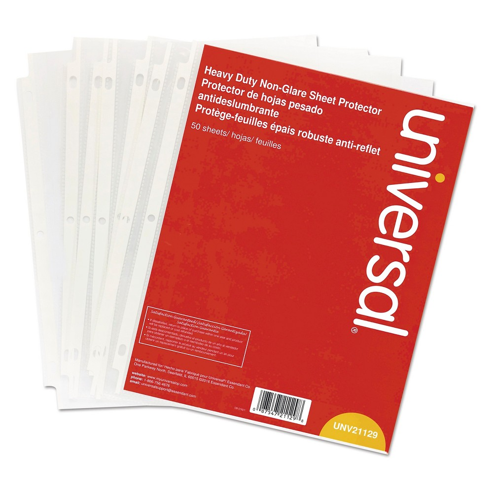 Document Sleeve Clear Universal Office