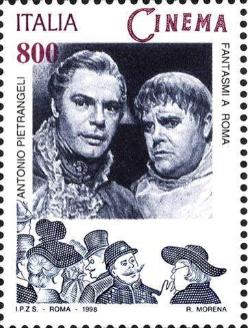 Italy Stamp 1998 - Cinema Fantasima Roma