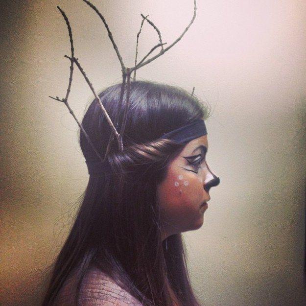 Deer | 23 Highly Memorable DIY Halloween Costumes