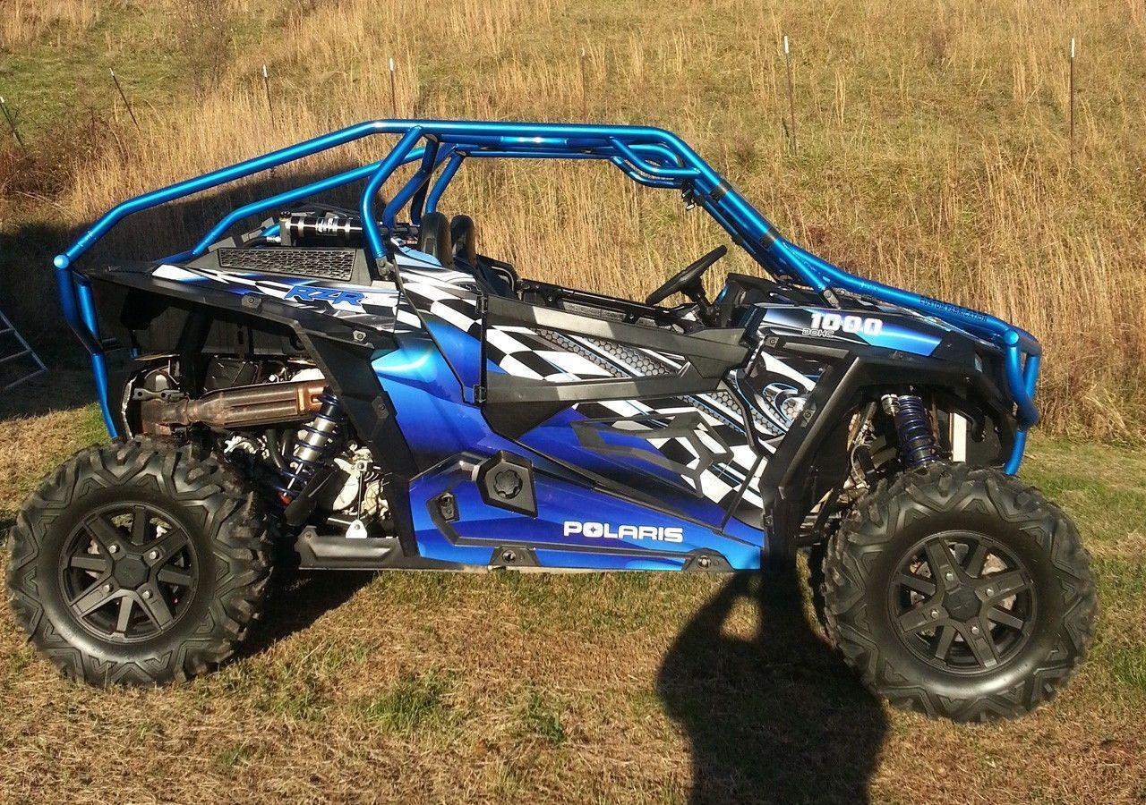 Polaris Rzr 1000 Graphics Wrap Kit Pro Armor Door Oem Inserts Decals 2500 Blue Polaris Rzr 1000 Polaris Rzr Rzr
