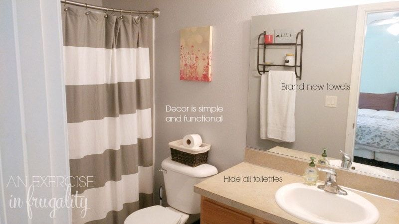 How To Stage Your House On A Budget With Images Bathroom
