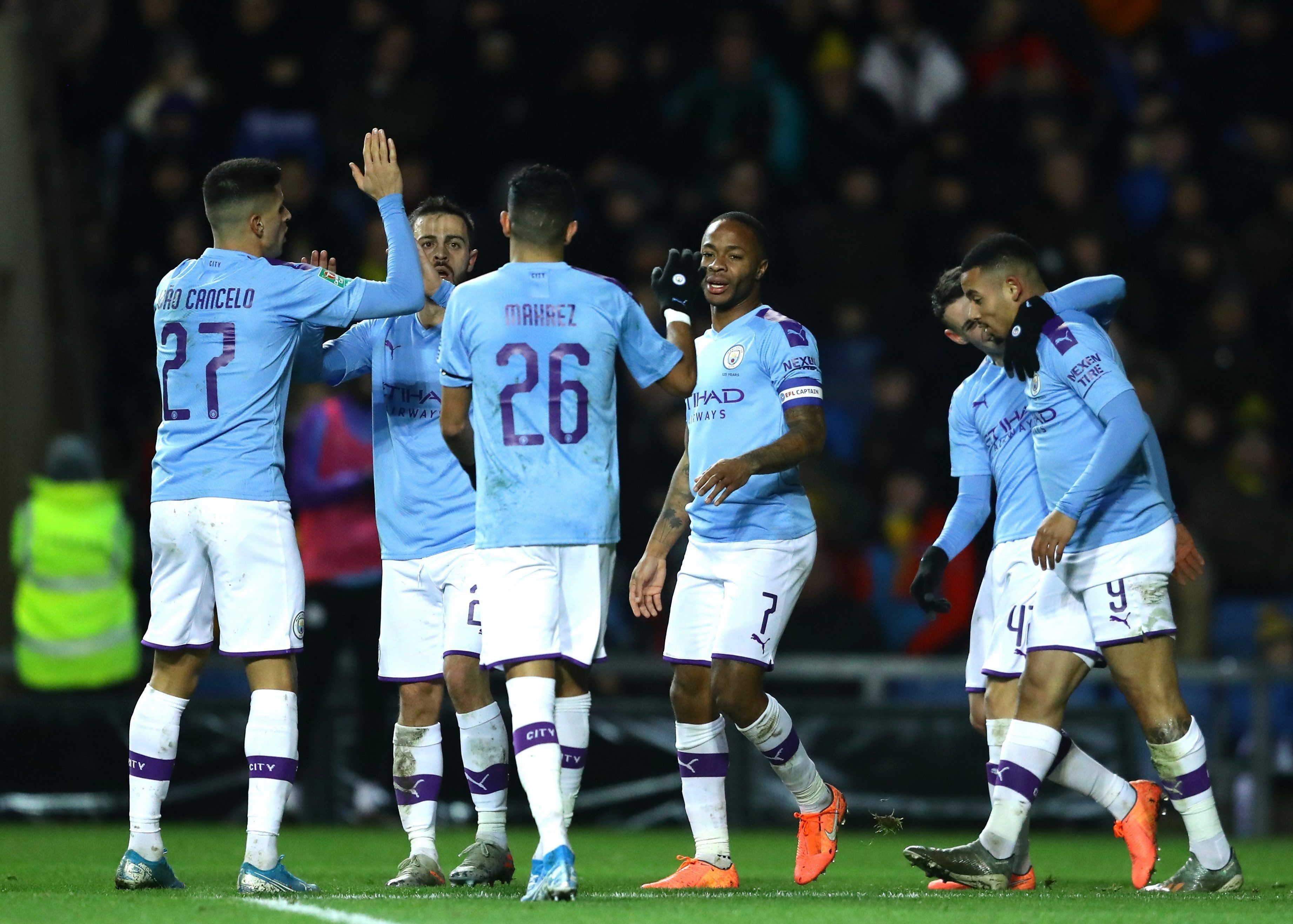 Carabao Cup Results Manchester City See Off Oxford Man United