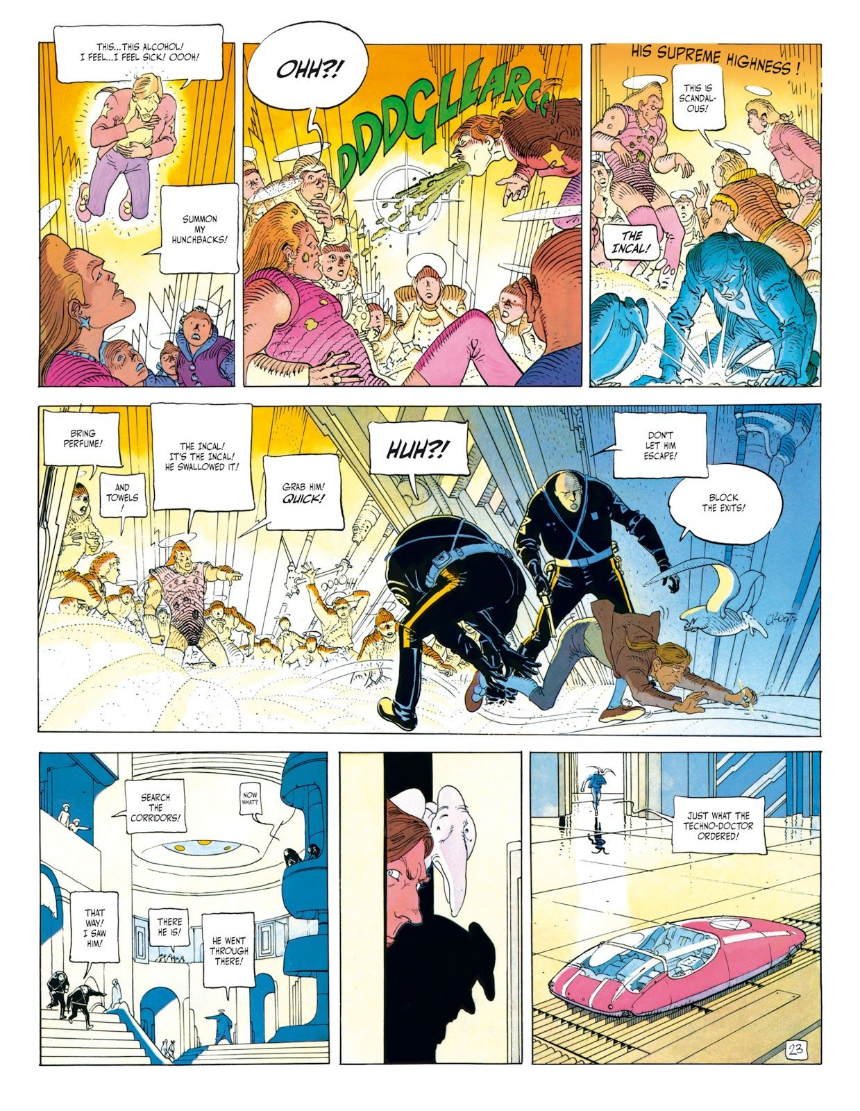 The Incal Tpb 1 Read The Incal Tpb 1 Comic Online In High