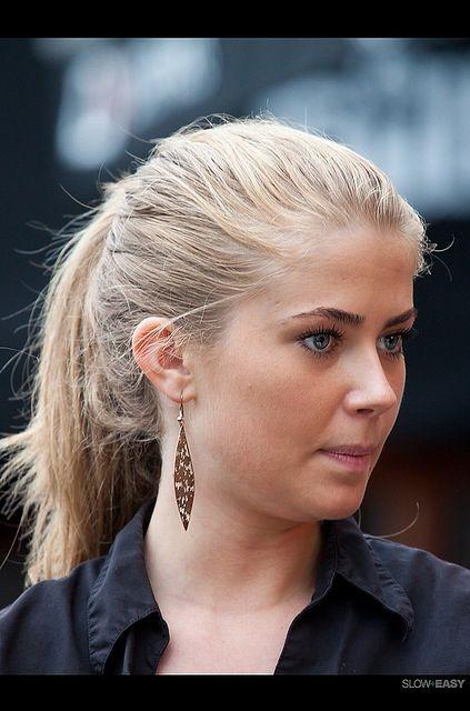 Beautiful Scandinavian Woman Blonde With Blue Eyes Women Beautiful People