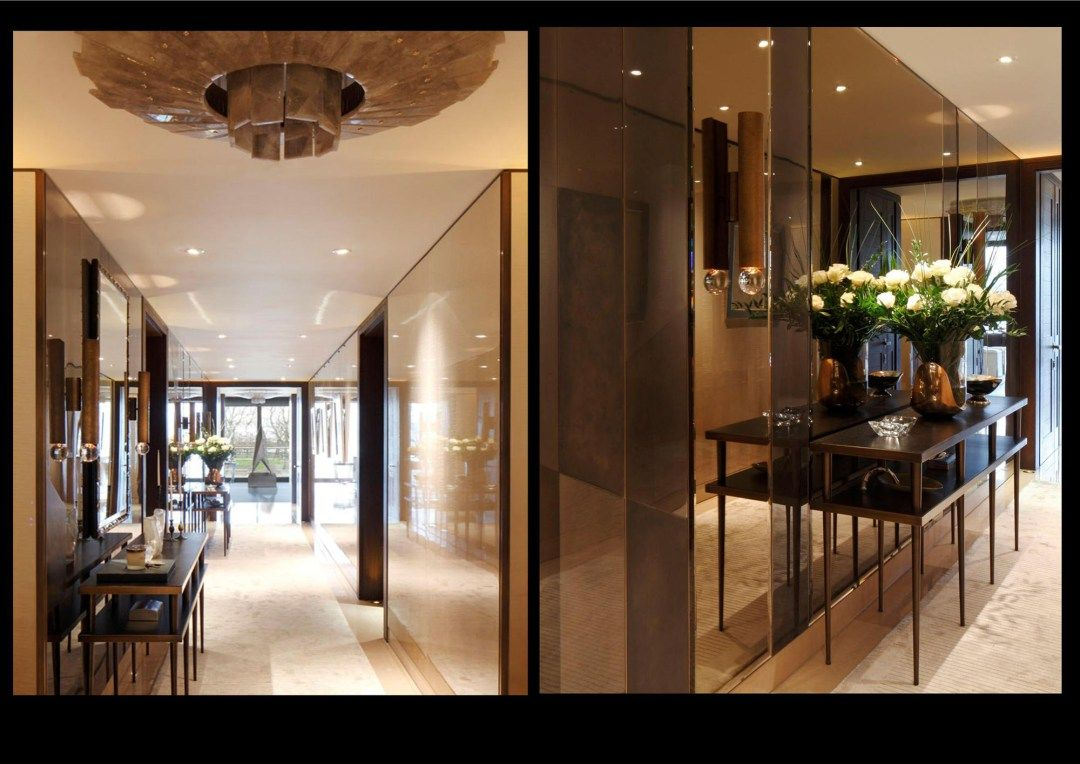 Entry And Hall In London Gb By Argent Design Hallway Designs