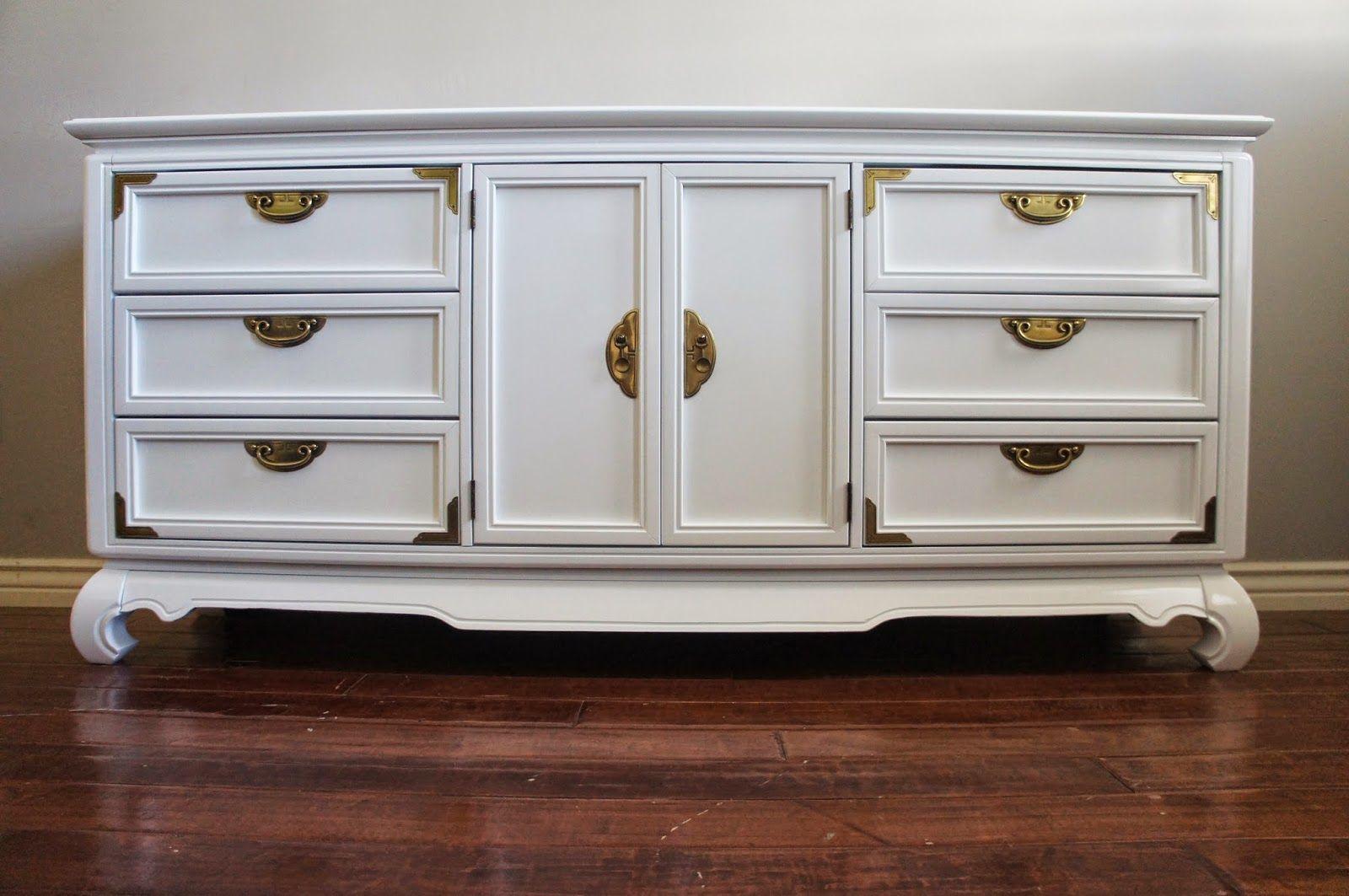 European Paint Finishes Vintage Modern High Gloss White Lacquered Brass Dresser Modern Furniture Makeover High Gloss White Lacquer Furniture Inspiration [ 1063 x 1600 Pixel ]