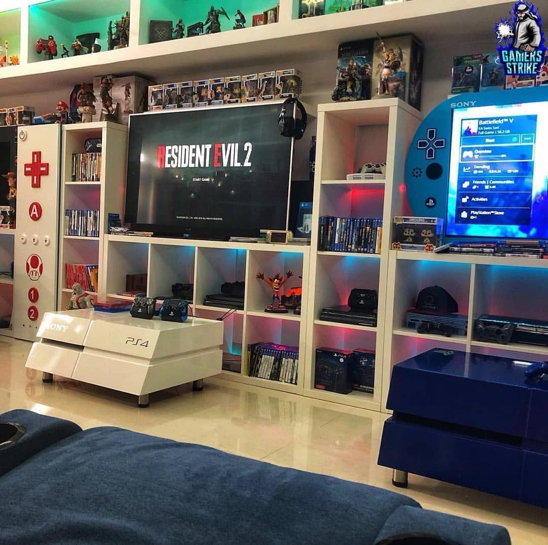 ne of the most beautiful gaming room on
