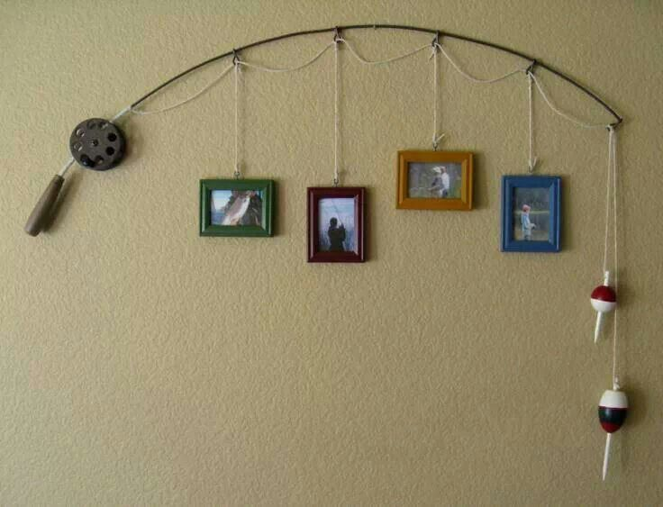 Great decoation for family pictures... preferably fishing trips lol :) love it!