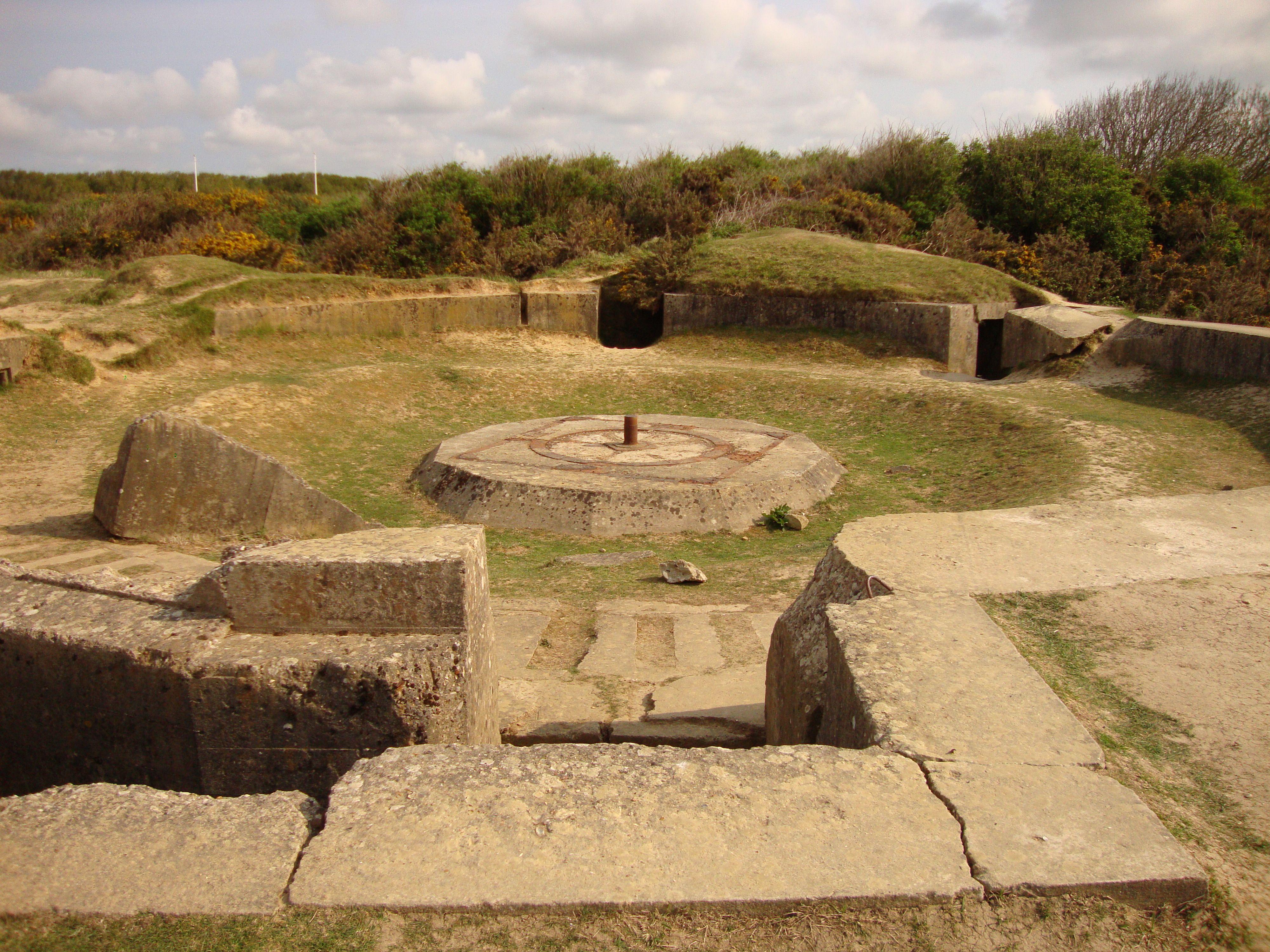 Pointe du Hoc German bunker