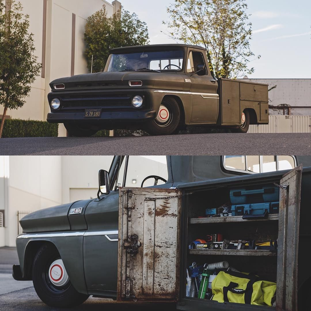 1965 Rockin A Utility Bed Shot By Crosshair Nightmare Follow Porterbuilt Chevy Trucks Chevy Utility Bed