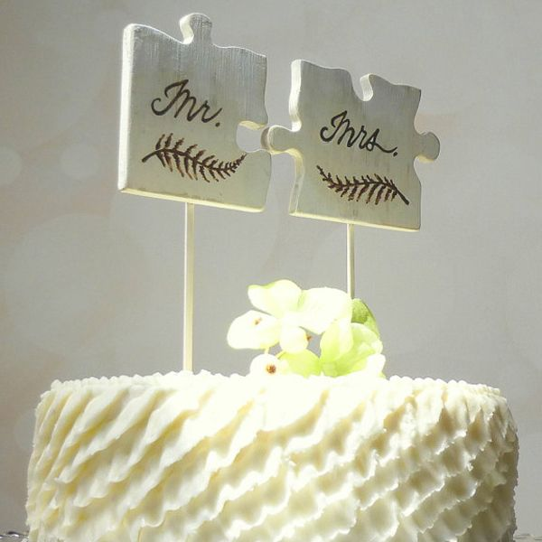 50 Creative Wedding Cake Toppers