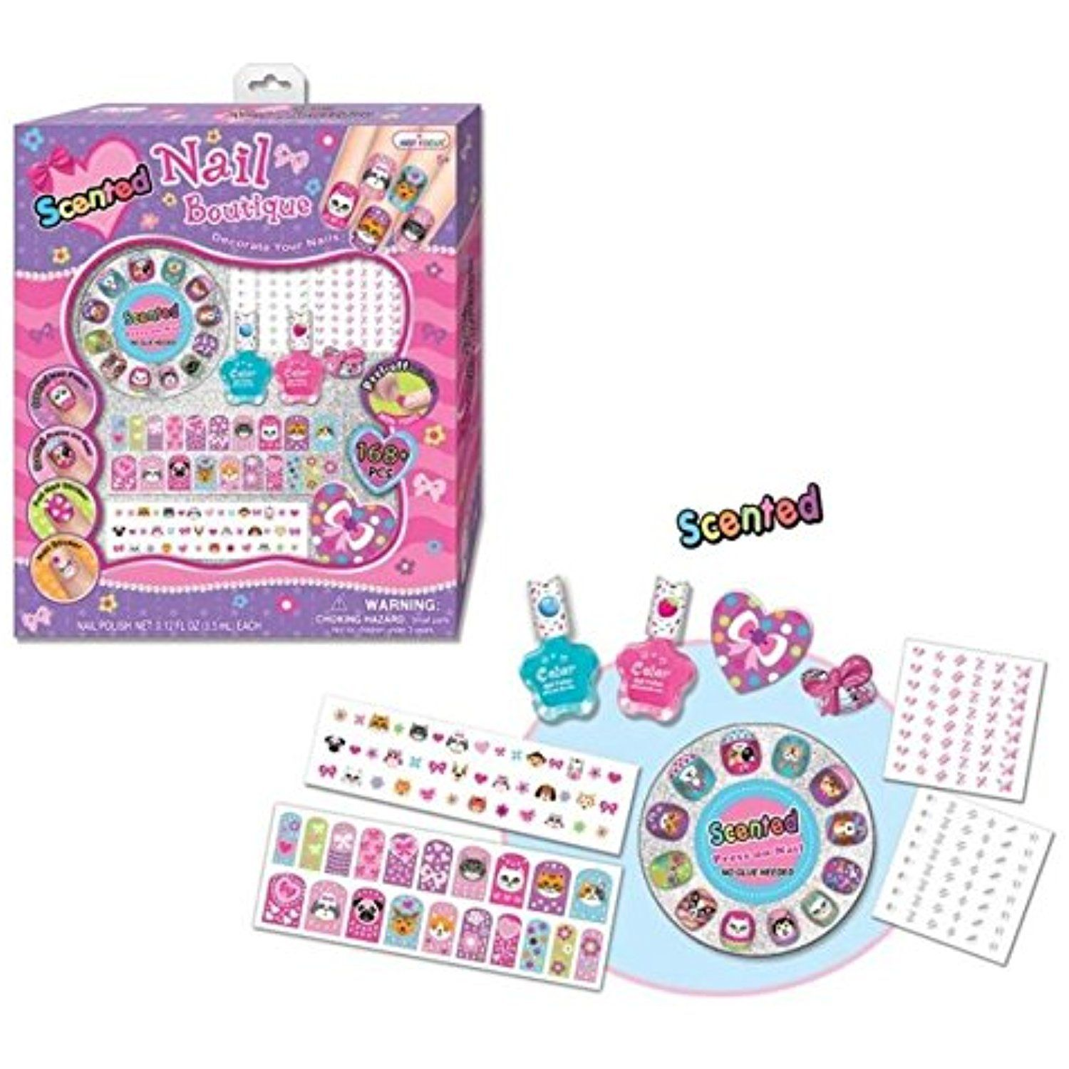 Hot Focus Nail Boutique Set with 168 Pieces ** Check out the image ...