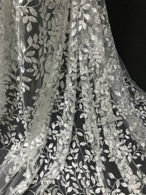 2018 New collection 3D wedding lace tulle fabric organza lace 51 inches fabric guipure lace wordwide shipping
