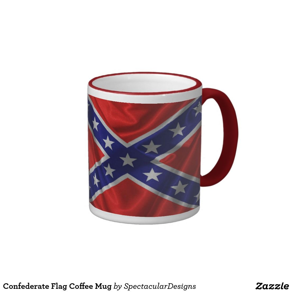 Buy Coffee Mugs Confederate Flag Coffee Mug Buy From Small Business