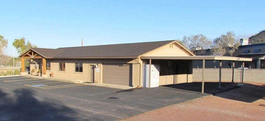 Single Slope With A Painted Frame Building A Patio Carport Kits