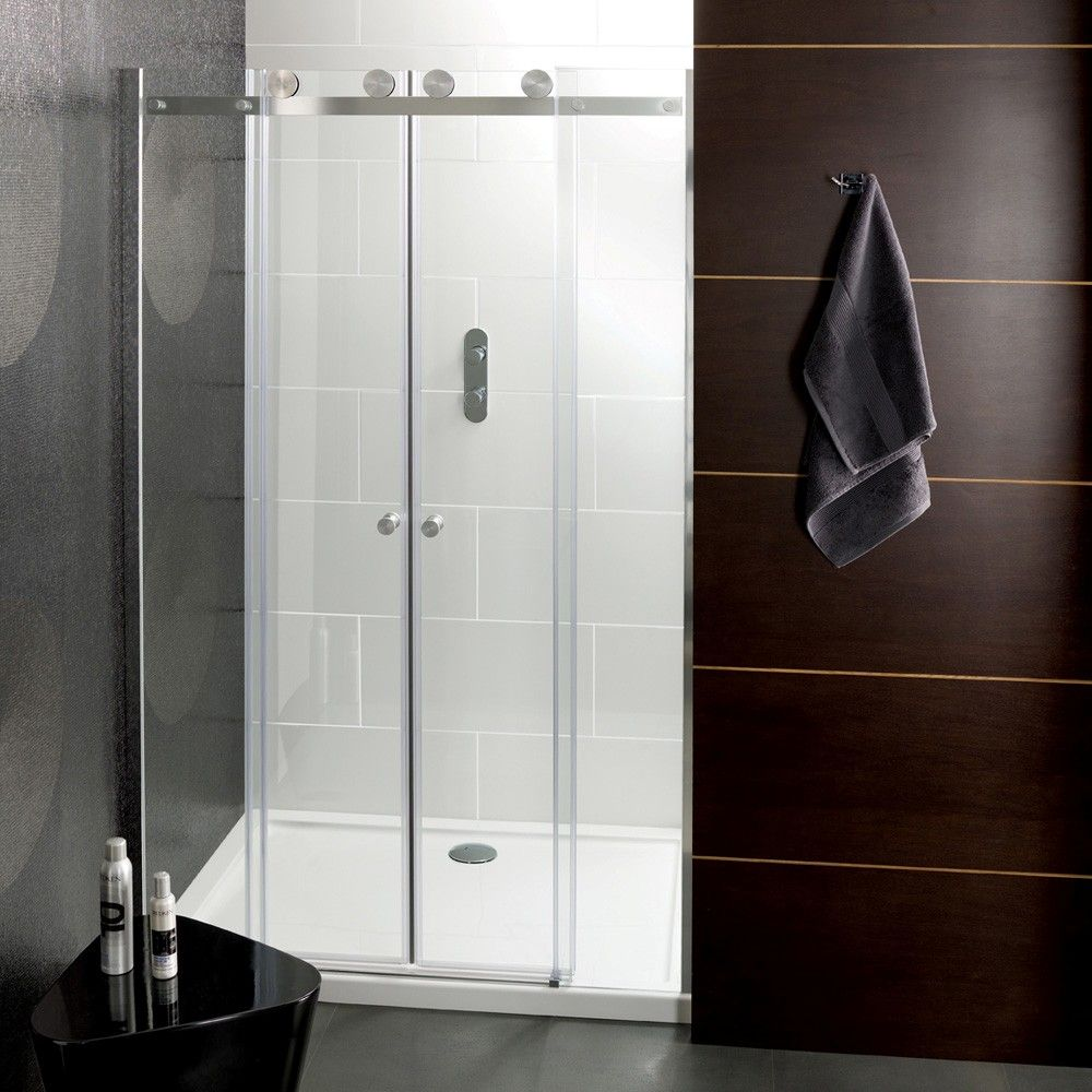 Small Bathroom Glass Shower Door: The Best Ways To Keep Your Glass Shower Doors Shiny And
