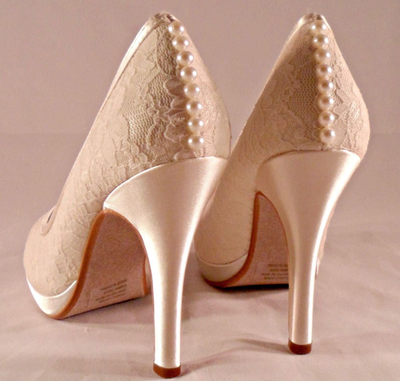 20++ Platform wedding shoes ivory information