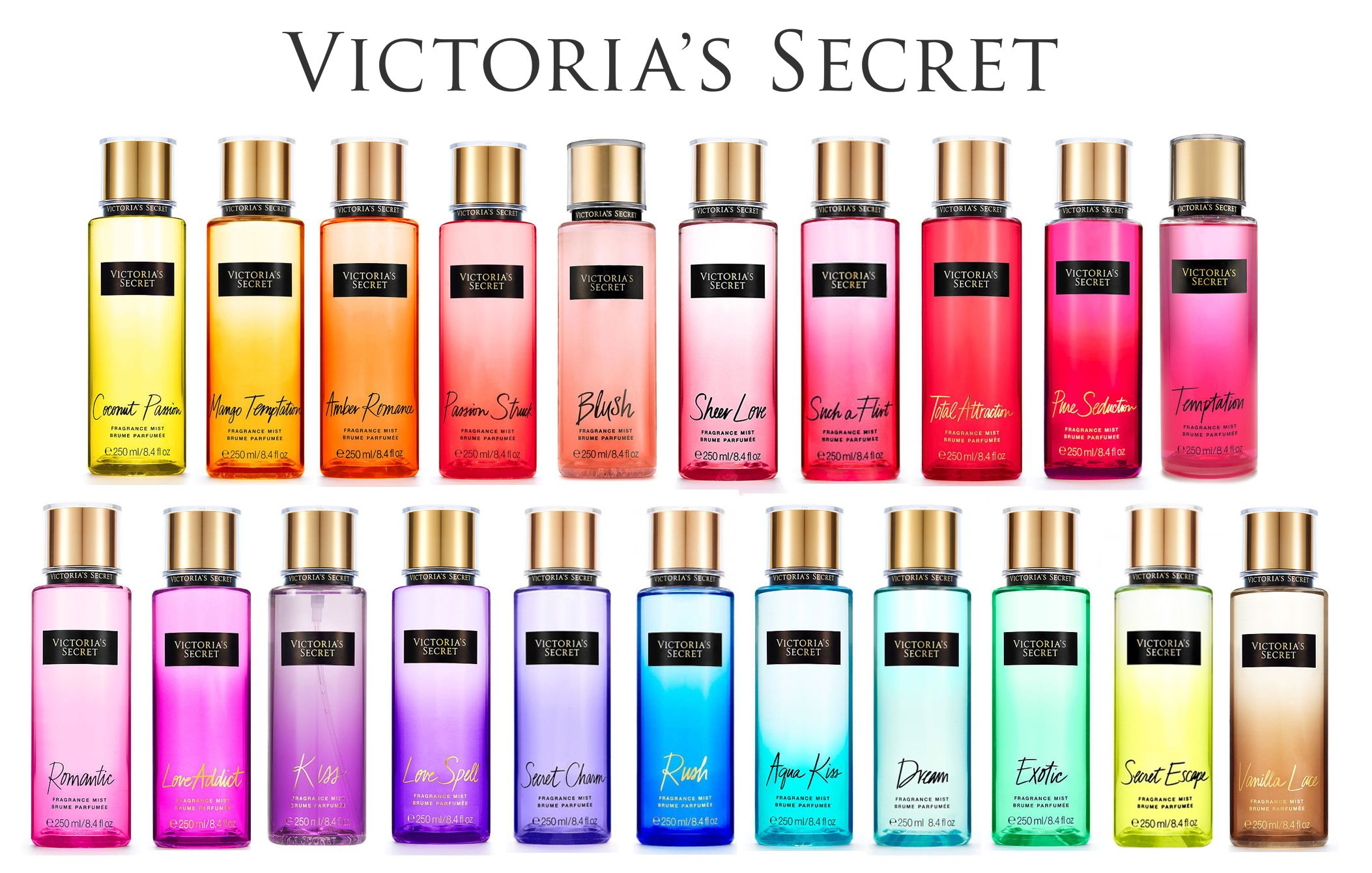 Victoria Secret Body Mist Set in W13