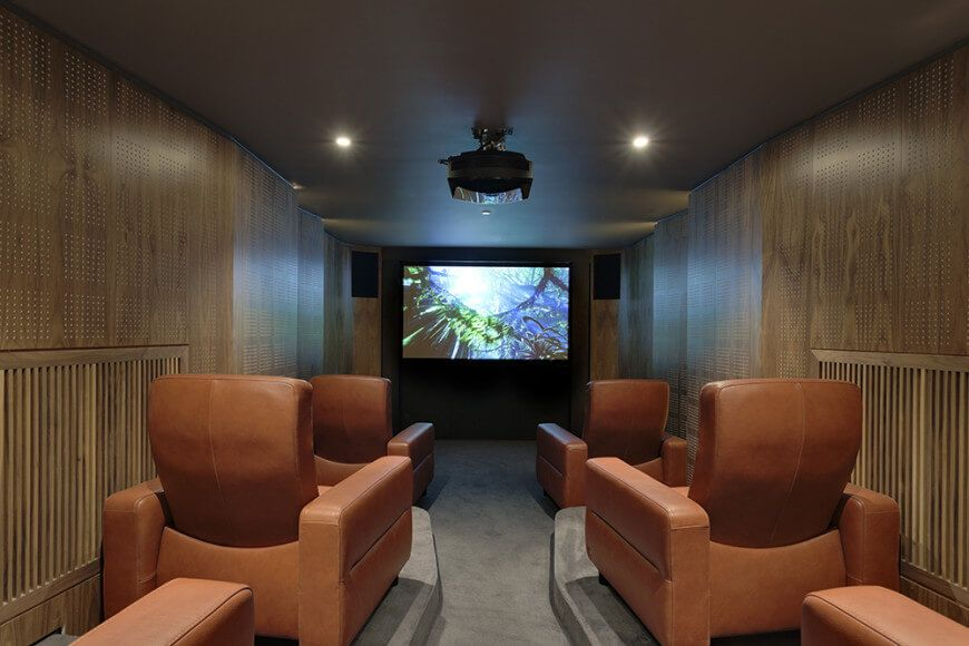 65+ Home Theater And Media Room Design Ideas (Photo Gallery)Table Of  Contents For The Book Ultimate Guide To Building Decks