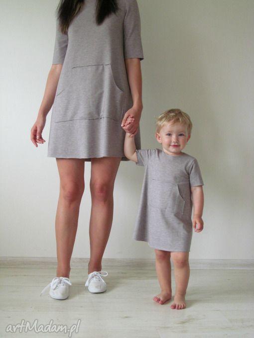 Nietypowe Ubranka Dla Dziecka Dla Mamy I Corki Lalu Mom Daughter Outfits Casual Dress Outfits